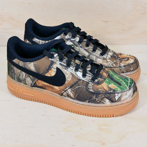 Nike Air Force 1 LV8 3 GS Realtree Camo (GS) NEW